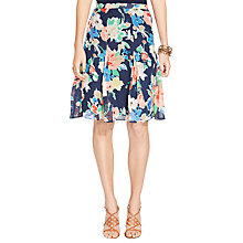 Buy Lauren Ralph Lauren Laney Skirt, Multi Online at johnlewis.com
