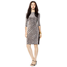 Buy Lauren Ralph Lauren Drew Dress, Colonial Cream Online at johnlewis.com
