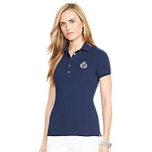 Buy Lauren Ralph Lauren Cora Short Sleeved Polo Top Online at johnlewis.com