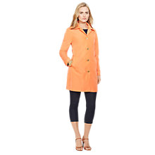 Buy Lauren Ralph Lauren Fidajete Trench Coat, Travel Orange Online at johnlewis.com