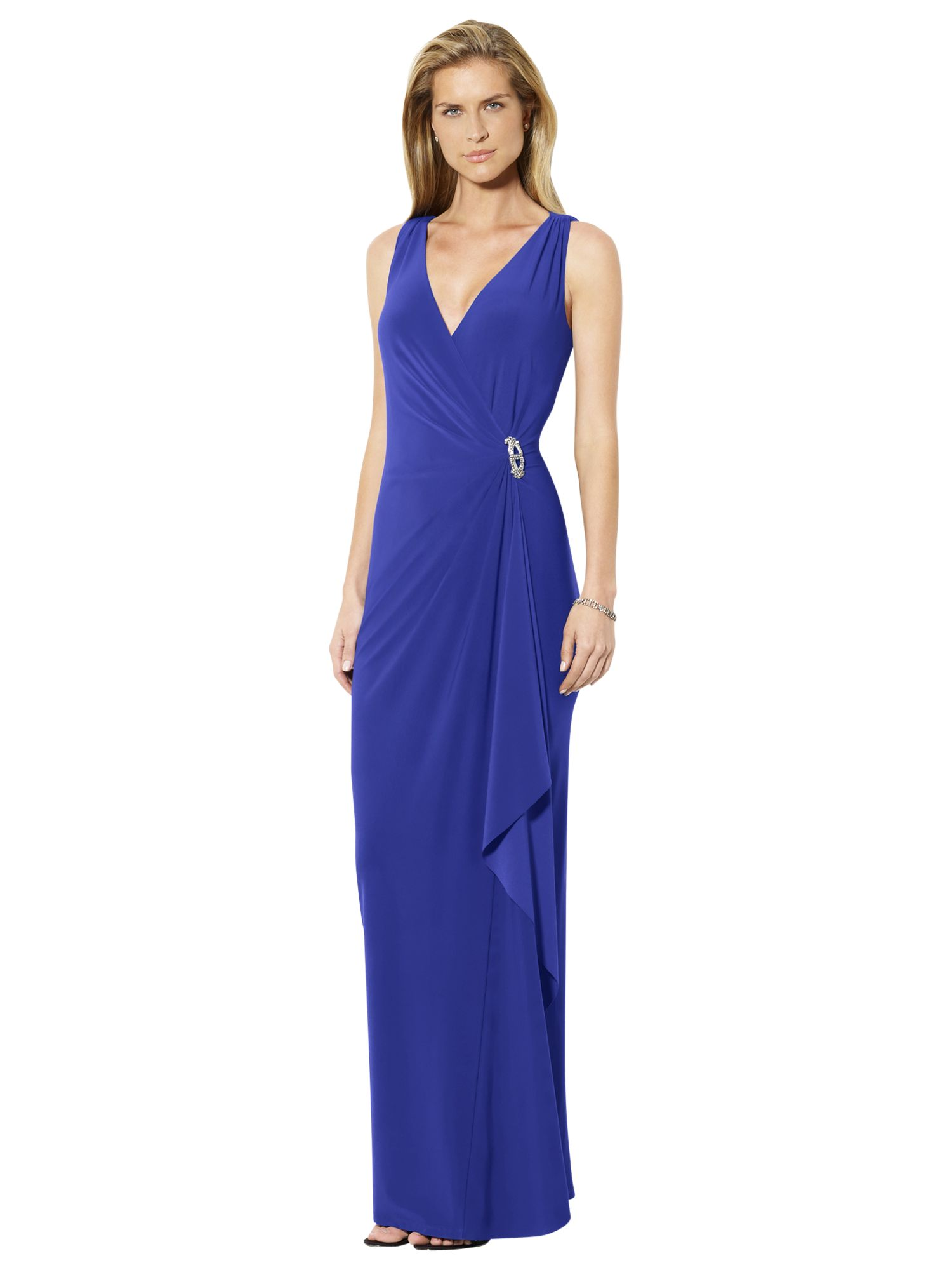 lauren ralph lauren sleeveless brooch dress cannes blue, lauren, ralph, sleeveless, brooch, dress, cannes, blue, lauren ralph lauren, 14|10|8|12|6|16, women, womens dresses, men, ralph lauren, lauren ralph lauren for women, shop by brand, 1903821