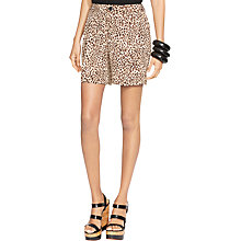 Buy Lauren Ralph Lauren Sueded Crepe Short, Multi Online at johnlewis.com