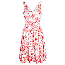 Buy Lauren Ralph Lauren Martika Floral Dress, Multi Online at johnlewis.com