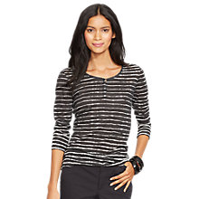 Buy Lauren Ralph Lauren Stripe Top, Multi Online at johnlewis.com