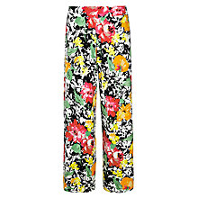 Buy Lauren Ralph Lauren Floral Wide-Leg Trousers, Multi Online at johnlewis.com