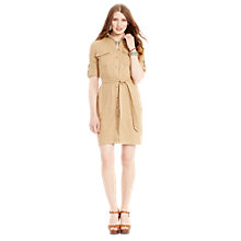 Buy Lauren Ralph Lauren Linen-Blend Shirtdress Online at johnlewis.com
