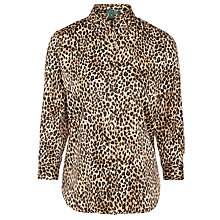 Buy Lauren Ralph Lauren Leopard Print Shirt, Multi Online at johnlewis.com