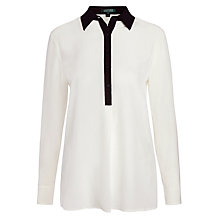 Buy Lauren Ralph Lauren Yohan Long Sleeve Shirt, Pearl Online at johnlewis.com