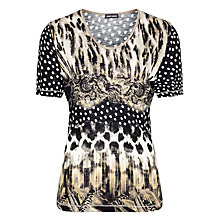 Buy Gerry Weber Polka Dot Animal T-shirt, Multi Online at johnlewis.com