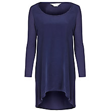 Buy Charli Shirley Silk Midi Dress, Navy Online at johnlewis.com