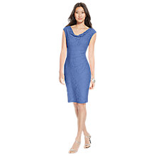 Buy Lauren Ralph Lauren Cap Sleeve Dress, Periwinkle Blue Online at johnlewis.com