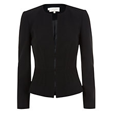 Buy Hobbs Jenni Jacket, Black Online at johnlewis.com