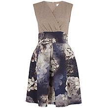Buy Almari Glitter Cross Over Dress, Gold Online at johnlewis.com