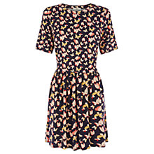 Buy Oasis Bold Butterfly Patch Dress, Multi Online at johnlewis.com