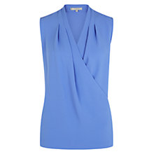 Buy Hobbs Julietta Tops, Wedgewood Blue Online at johnlewis.com
