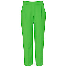 Buy French Connection Whisper Light Trousers, Astro Green Online at johnlewis.com
