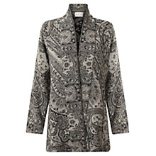 Buy East Paisley Blanket Coat, Ash Online at johnlewis.com