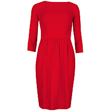 Buy Ted Baker Contrast Snake Embossed Dress, Red Online at johnlewis.com