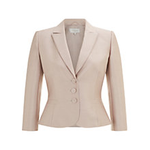 Buy Hobbs Rosella Jacket, Oyster Beige Online at johnlewis.com