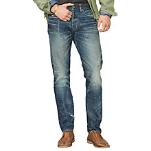 Buy Denim & Supply Ralph Lauren Alamo Slim Jeans, Blue Online at johnlewis.com