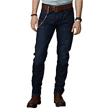 Buy Denim & Supply Ralph Lauren Orleigh Tapered Jeans, Blue Online at johnlewis.com