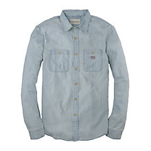 Buy Denim & Supply Ralph Lauren Denim Workshirt, Light Blue Online at johnlewis.com