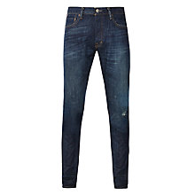 Buy Denim & Supply Ralph Lauren Low Skinny Jeans, Blue Online at johnlewis.com
