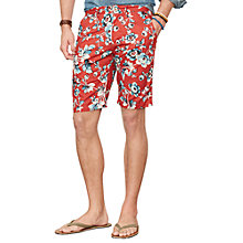 Buy Denim & Supply Ralph Lauren Floral Chino Shorts Online at johnlewis.com