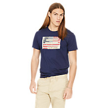 Buy Denim & Supply Ralph Lauren Flag T-Shirt Online at johnlewis.com