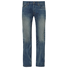 Buy Denim & Supply Ralph Lauren Richton Tapered Jeans, Blue Online at johnlewis.com