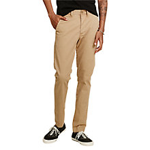 Buy Denim & Supply Ralph Lauren Slim Fit Officer's Chinos, Khaki Online at johnlewis.com