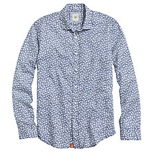 Buy Dockers Alpha Laundered All Over Print Shirt, Dynamic Blue Online at johnlewis.com