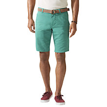 Buy Dockers Alpha Twill Chino Shorts, Green Blue Online at johnlewis.com