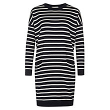 Buy Hobbs Ali Dress, Navy Online at johnlewis.com