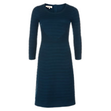Buy Hobbs Bonnie Dress, Teal Online at johnlewis.com
