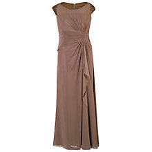 Buy Chesca Sequin Trim Bead Mesh Dress Online at johnlewis.com