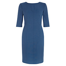 Buy Hobbs Calla Dress, Oil Blue Online at johnlewis.com