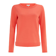 Buy Hobbs Ondine Jumper, Soft Grenadine Online at johnlewis.com
