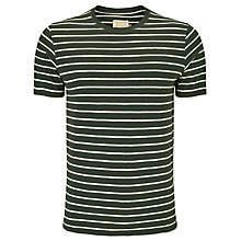 Buy JOHN LEWIS & Co. Slub Stripe T-Shirt Online at johnlewis.com