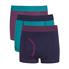 Buy John Lewis Boy Coloured Trunks, Pack of 3, Multi, 3 years Online at johnlewis.com