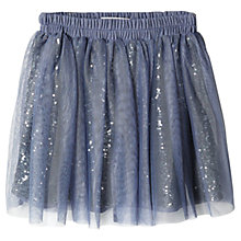 Buy Mango Kids Girls' Tulle Sequin Skirt Online at johnlewis.com