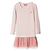 Buy Mango Kids Girls' Striped Tulle Dress Online at johnlewis.com