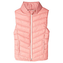 Buy Mango Kids Girls' Quilted Zip Through Gilet Online at johnlewis.com