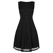 Buy Coast Liv Striped Dress, Black Online at johnlewis.com
