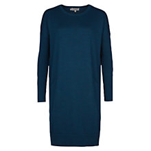 Buy Hobbs Gwen Dress, Teal Online at johnlewis.com