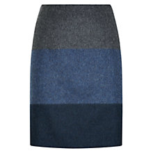 Buy Hobbs Kaidence Skirt, Multi Blue Online at johnlewis.com
