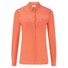 Buy Hobbs Sandrine Blouse, Light Grenadine Online at johnlewis.com