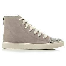 Buy Steve Madden Eastman Flat Hi-Top Trainers Online at johnlewis.com