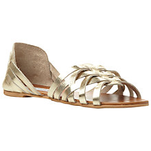 Buy Steve Madden Flute Gladiator Leather Sandals Online at johnlewis.com
