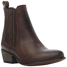 Buy Steve Madden S-Lennon Leather Ankle Boots Online at johnlewis.com